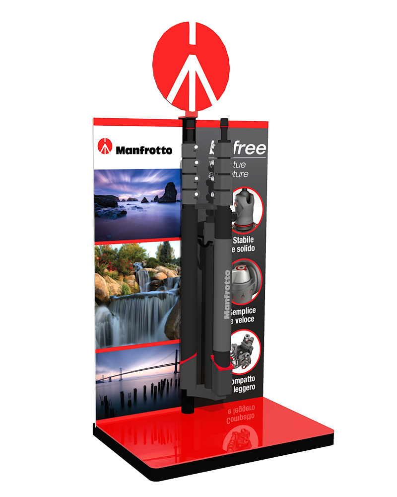 Espositore befree Manfrotto
