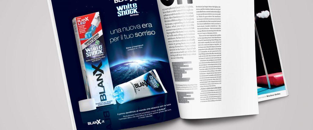 Blanx White Shock pagina di stampa