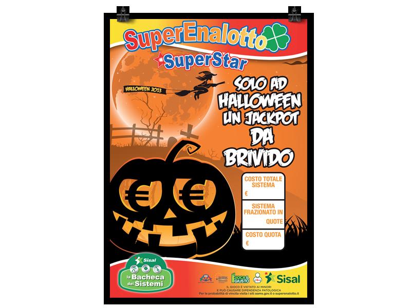 Halloween locandina Sisal Bacheca dei Sistemi